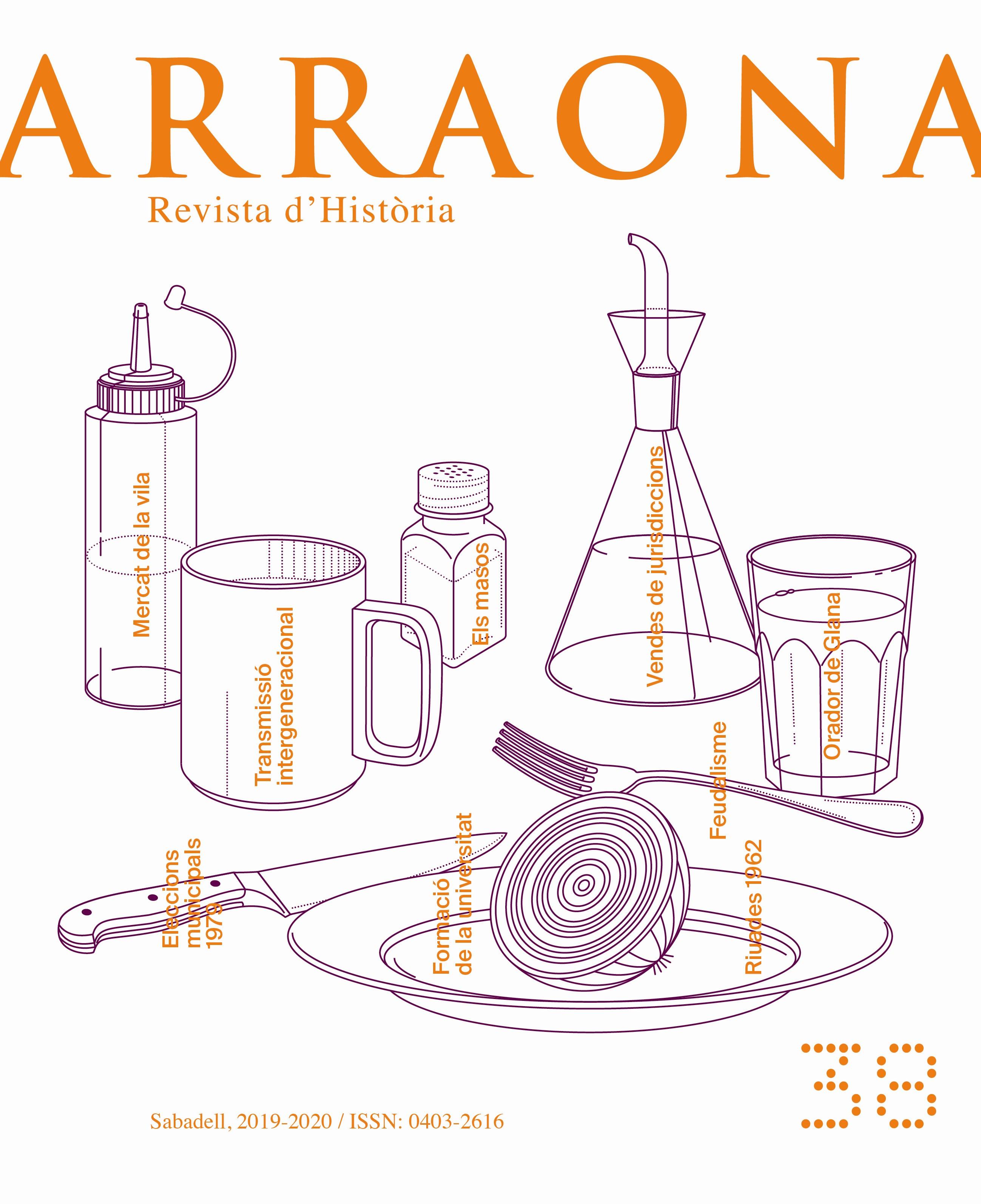 """Presentació del número 38 de la revista d'història """"Arraona"""""""
