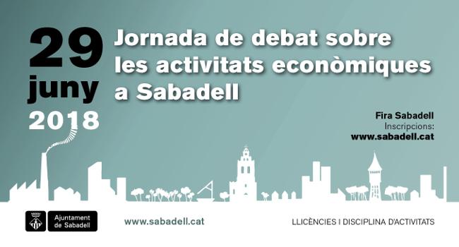 Jornada de debat sobre les activitats econòmiques a Sabadell