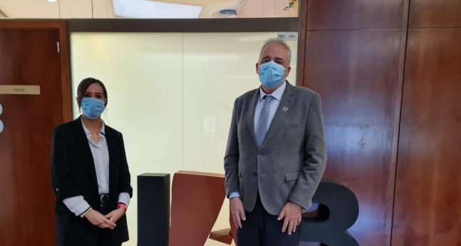 L'alcaldessa de Sabadell i el rector de la UAB ratifiquen la voluntat de treballar conjuntament per assolir el nou grau d'infermeria a la ciutat
