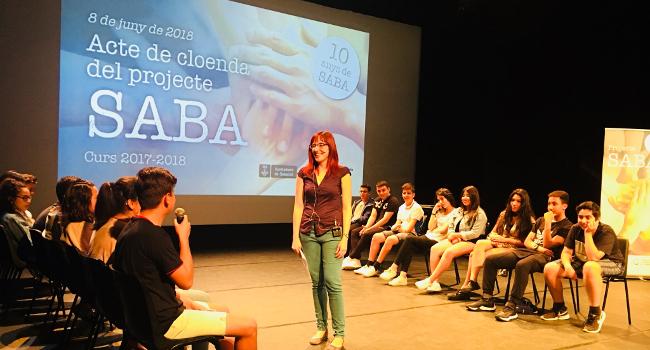 El Projecte SABA compleix 10 anys fomentant el Voluntariat i l'Educació en Valors entre alumnes d'ESO i entitats
