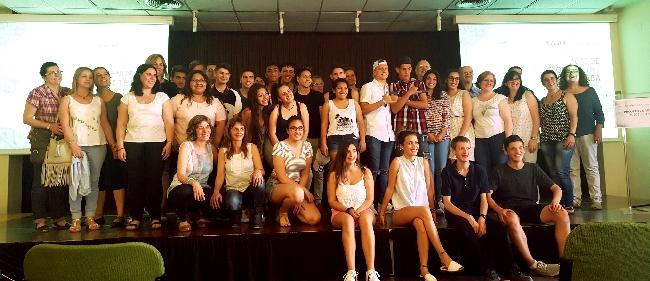 Reconeixement als alumnes, professorat i entitats participants en el projecte de voluntariat SABA