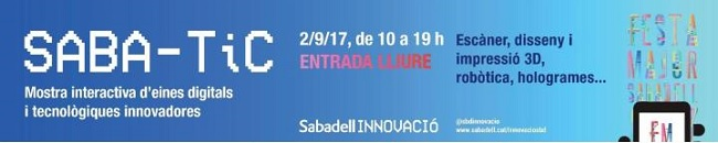 Torna el Saba-Tic, una mostra interactiva de tecnologies innovadores