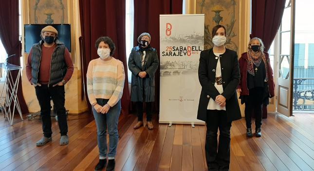 Sabadell inicia un programa de commemoració dels 25 anys de la relació de cooperació amb Sarajevo