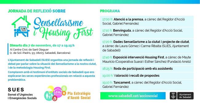 Ajuntament i entitats reflexionen sobre el sensellarisme a Sabadell
