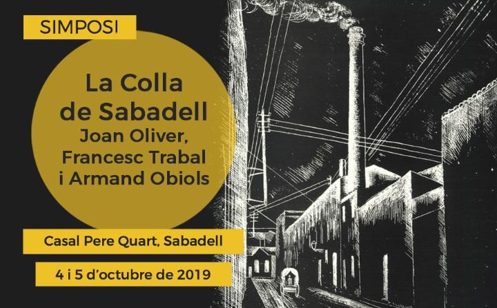 Un simposi per situar la Colla de Sabadell en el context de les lletres catalanes contemporànies, el 4 i 5 d'octubre, al Casal Pere Quart