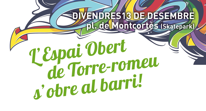 Un grup de joves de Torre-romeu organitza la inauguració del nou Espai Obert d'Activitats Esportives i Lúdiques del barri