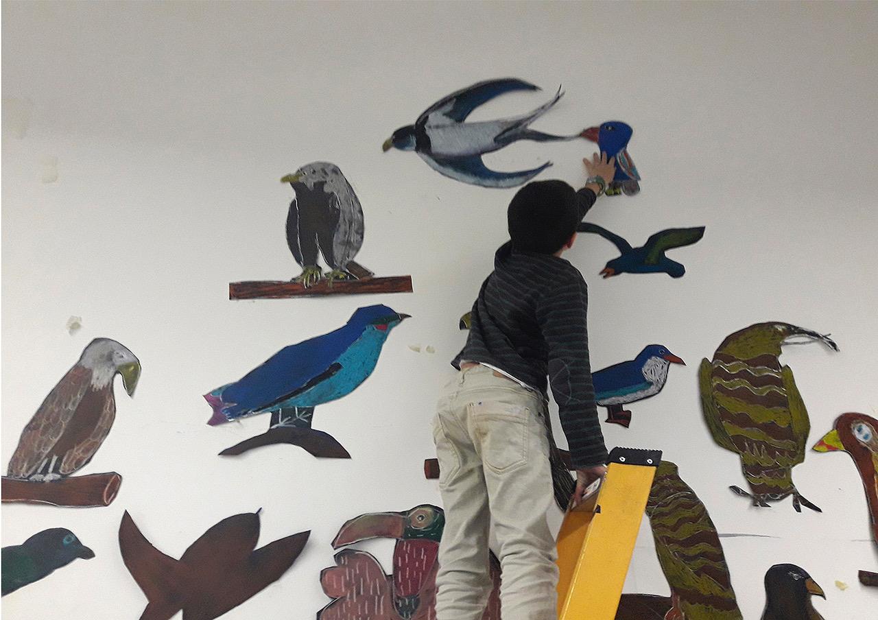 """""""Els afectes"""", la nova exposició dels Tallers d'Art de l'Escola Illa"""
