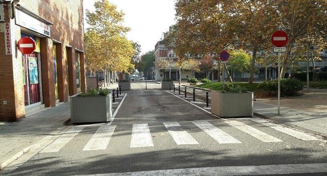 L'Eixample guanya espais de vianants amb l'ampliació de dues places