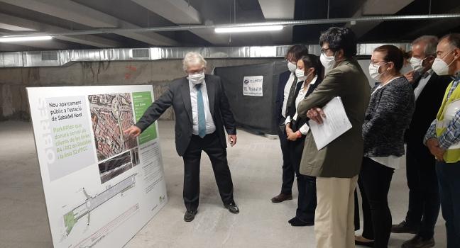 La ciutat comptarà a finals d'any amb un aparcament soterrat amb més de 350 places a l'estació Sabadell Nord d'FGC