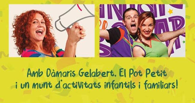 Dàmaris Gelabert tornarà a Sabadell per oferir un espectacle gratuït per a la ciutadania i s'estan fent gestions amb El Pot Petit perquè també repeteixi
