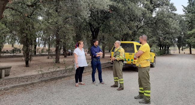 Visita a l'ADF Sabadell en el marc de la campanya d'estiu