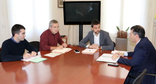 Primera trobada entre Ajuntament i Aeroport de Sabadell per engegar projectes comuns