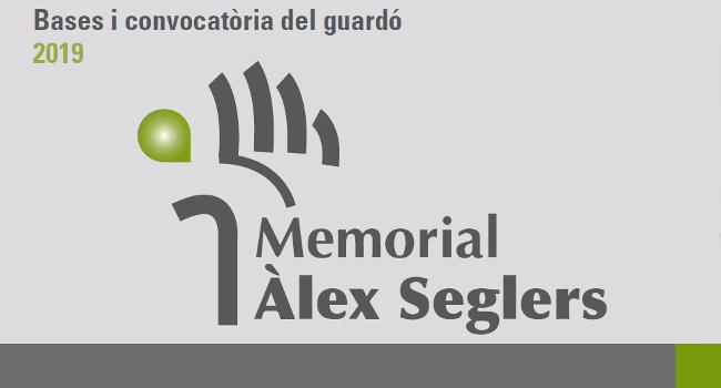 Convocada la vuitena edició del guardó Memorial Àlex Seglers