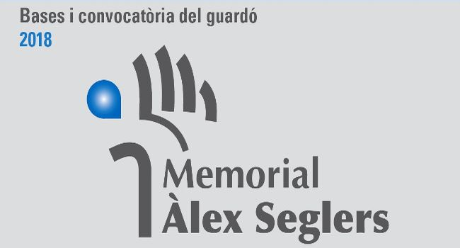 Oberta la presentació de candidatures al setè guardó Memorial Àlex Seglers