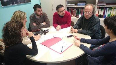 Trobada amb els Serveis Socials de l'Ajuntament de Barcelona per aprofundir en el coneixement del seu model de distribució d'aliments