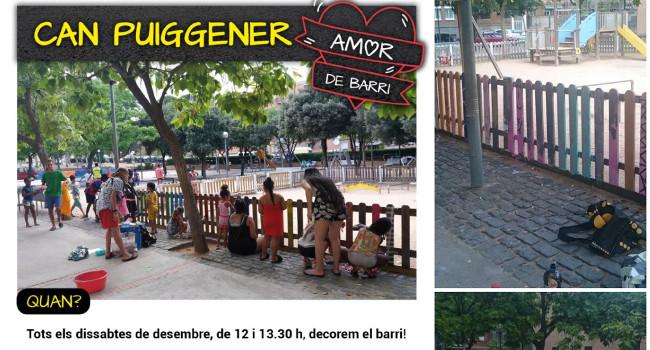 """La 2a fase del projecte """"Amor de barri"""" embelleix diferents espais de Can Puiggener"""