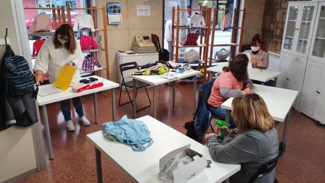 L'Espai Solidari Xic x Xics, d'Andi, torna a obrir les seves portes
