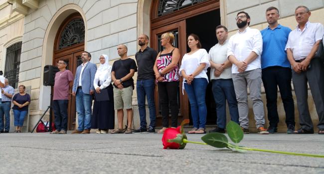 Acte d'homenatge a les víctimes dels atemptats de Barcelona i Cambrils