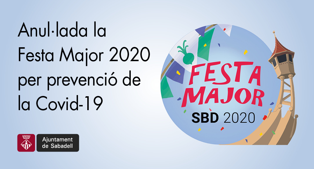 Se suspèn la Festa Major 2020 per evitar possibles contagis
