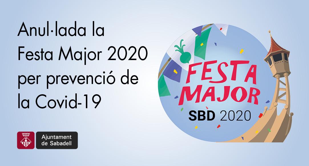Se suspèn la Festa Major 2020 per evitar possibles contagis