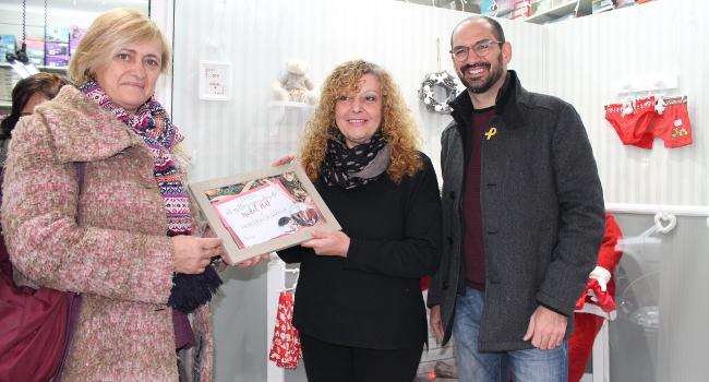 La botiga Merceria Ca l'Amàlia guanya el premi al Millor Aparador de la ciutat concedit per l'Ajuntament de Sabadell