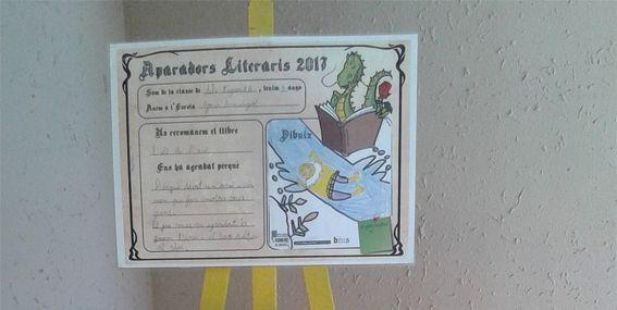 Alumnes de 14 centres educatius recomanen llibres per Sant Jordi amb els Aparadors literaris