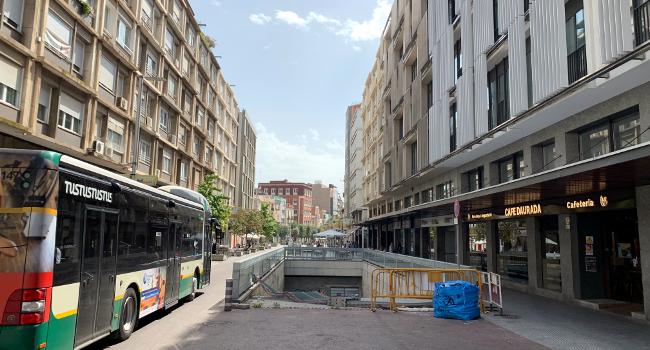 L'Ajuntament preveu adquirir les obres de l'aparcament soterrani del passeig de la Plaça Major