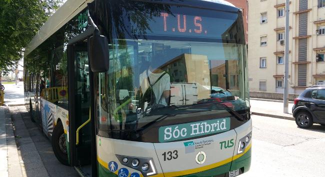 El servei d'autobusos urbans es reforça aquest estiu per atendre l'increment de la demanda de transport públic