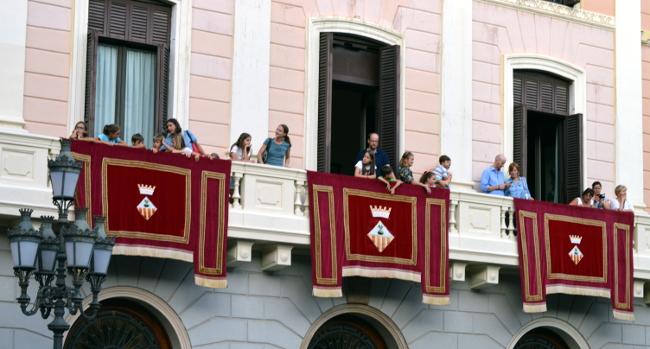 Les finestres i el balcó de l'Ajuntament s'obriran de nou a la ciutadania per Festa Major
