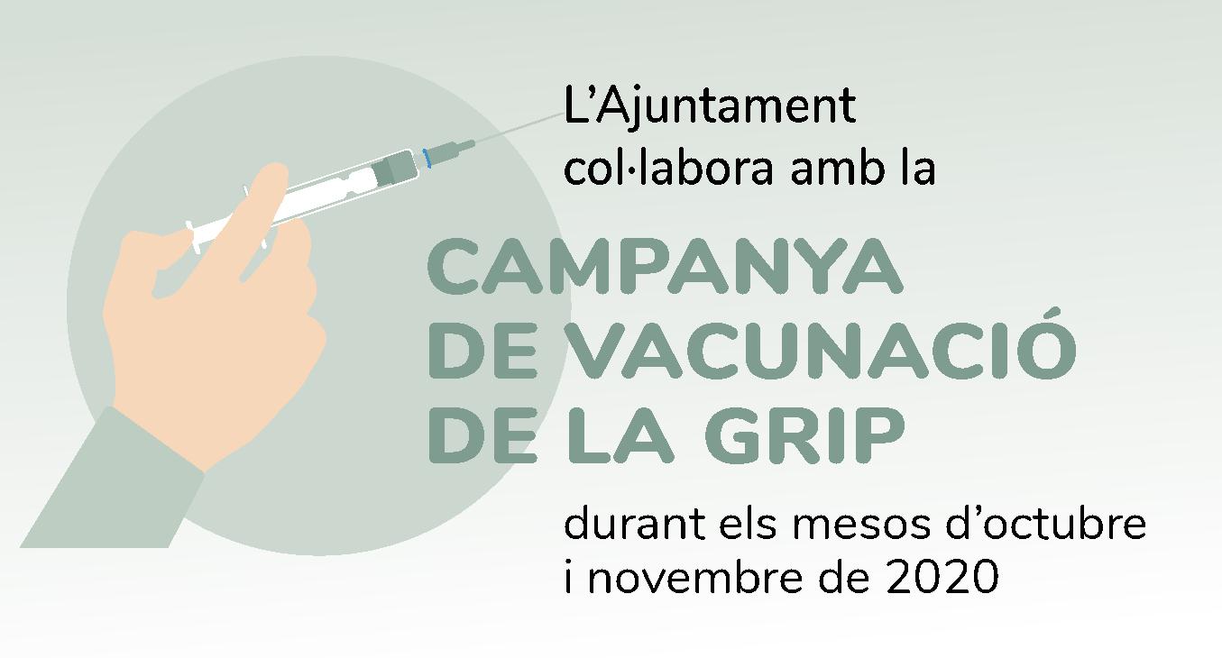 L'Ajuntament cedirà espais municipals perquè la vacunació de la grip pugui fer-se de manera més confortable i amb total seguretat