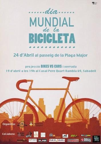 Sabadell celebrarà el Dia de la Bicicleta amb tallers, exposicions, projecció de documental i altres activitats per a tota la família