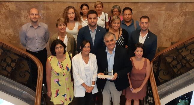 Rebuda a l'ambaixador i a la cònsol de Bolívia