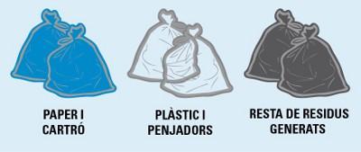 Sabadell reduirà el cost del reciclatge als mercats de marxants gràcies a la col·laboració dels paradistes