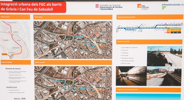 Ajuntament i FGC estableixen un servei d'autobús llançadora alternatiu al tren entre Can Feu | Gràcia i Sant Quirze