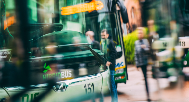 La nova línia 14 d'autobús ha incrementat en un 80% el nombre d'usuaris al polígon de Can Roqueta