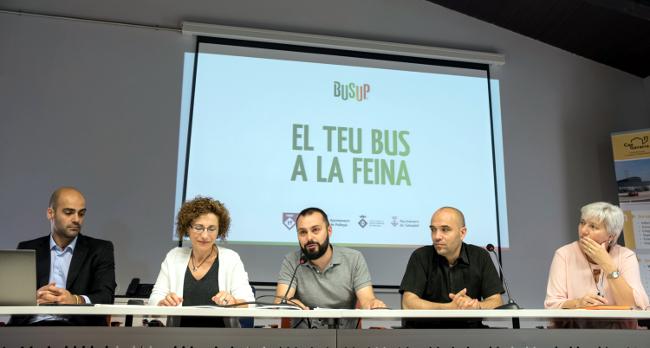 La plataforma BusUp oferirà un servei d'autocars compartits als treballadors dels polígons del Vallès