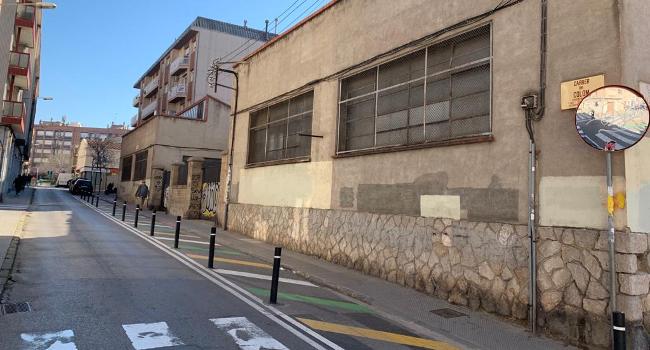 Un tram del carrer de Colom guanyarà més espai de vorera