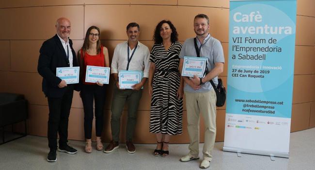 ISENSI guanya el premi a la Millor Empresa pel seu treball en solucions tecnològiques per a persones amb mobilitat reduïda en el Fòrum d'Emprenedoria Cafè Aventura