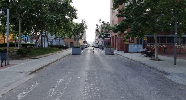 La unió de les places del Mestre Planas i Montserrat Roig es consolidarà amb una transformació al carrer de Calvet d'Estrella