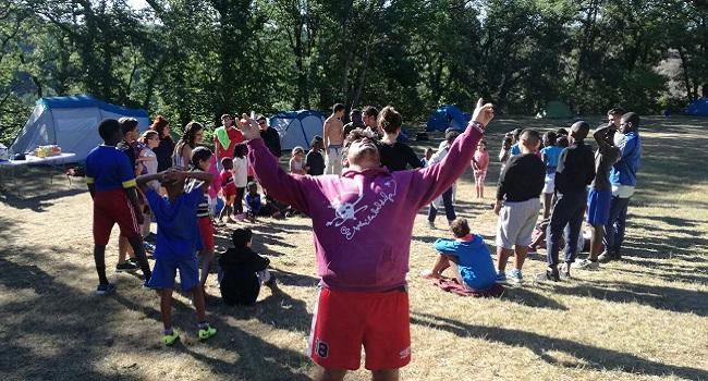 Campaments gratuïts per a una seixantena d'infants i joves de l'Esplai La Baldufa de Can Puiggener