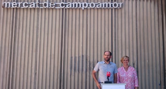 Sabadell remodelarà el Mercat de Campoamor en una experiència pilot i innovadora anomenada Linkmarket SBD