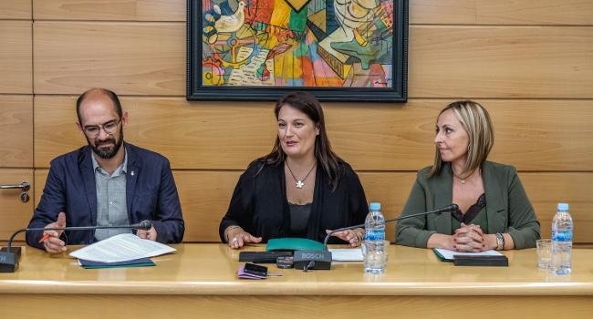 Signatura del Conveni per a la construcció del col·lector del Torrent de Can Gorgs