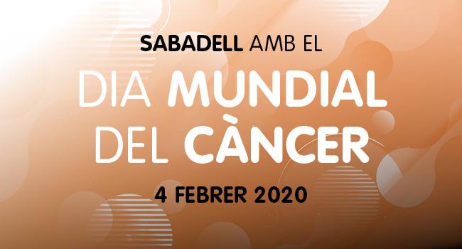 Commemoració conjunta del Dia Mundial del Càncer a Sabadell