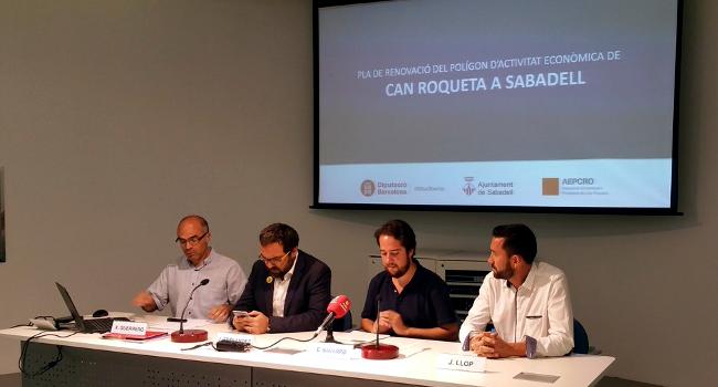 S'inverteixen 2,2 milions d'euros en la modernització i renovació integral de l'àmbit del polígon de Can Roqueta