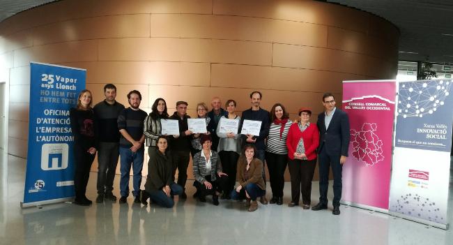 """Els guanyadors del concurs """"Idees Innovadores per a Reptes Socials""""  tindran el suport del Centres d'Empreses municipals"""