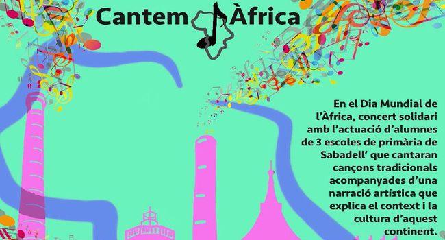 Tres escoles de Sabadell protagonitzaran dijous el concert Cantem Àfrica