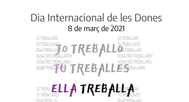Sabadell il·lumina la Torre de l'Aigua de lila pel 8 de març