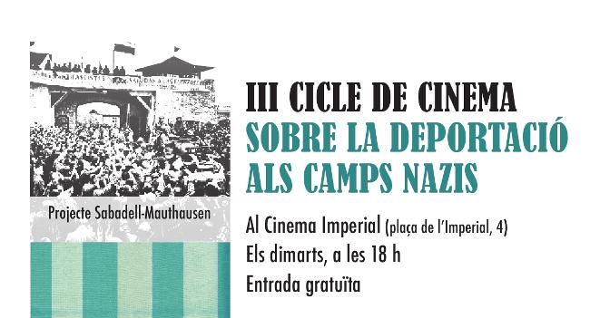Tercer Cicle de Cinema sobre la Deportació als Camps Nazis