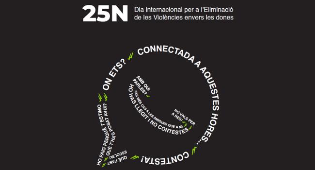 La commemoració del 25 de novembre posa l'accent en la lluita contra la violència de gènere en les noves tecnologies