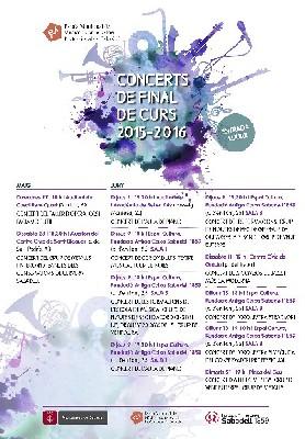L'Escola Municipal de Música i Conservatori celebra demà la festa de final de curs